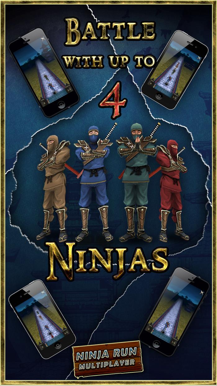 Ninja Run Multiplayer: Real Fun Racing Games 2 Screenshot