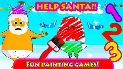 Xmas Colouring Book Pages for boys, girls & adults screenshot four