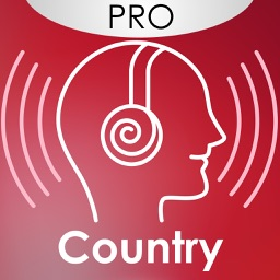 Country music radio player - The best live internet radios stations tuner ( PRO Version )