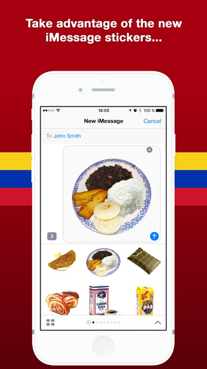 Venezuelan Food Stickers screenshot-3