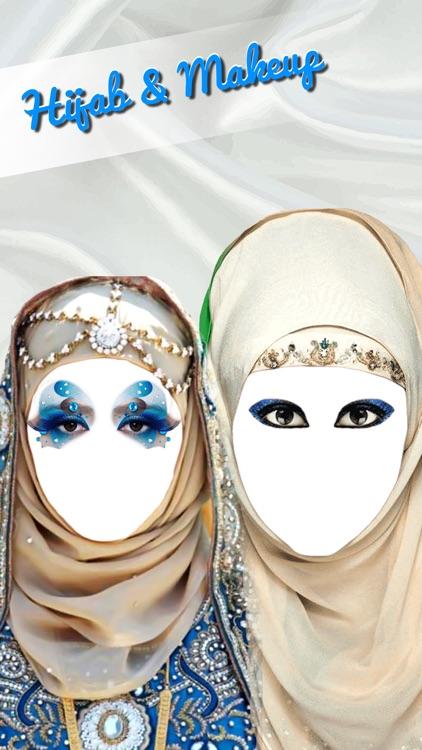 Hijab Style.s & Makeup Frame.s - Muslim Dress Up screenshot-4