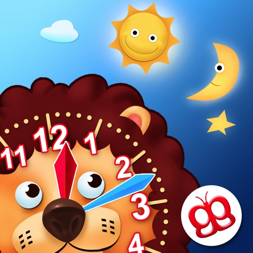 Interactive Telling Time Pro icon