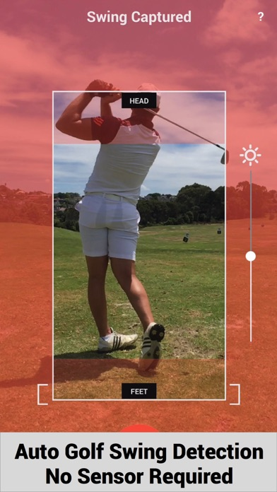 Swing Profile Golf Analyzer screenshot one