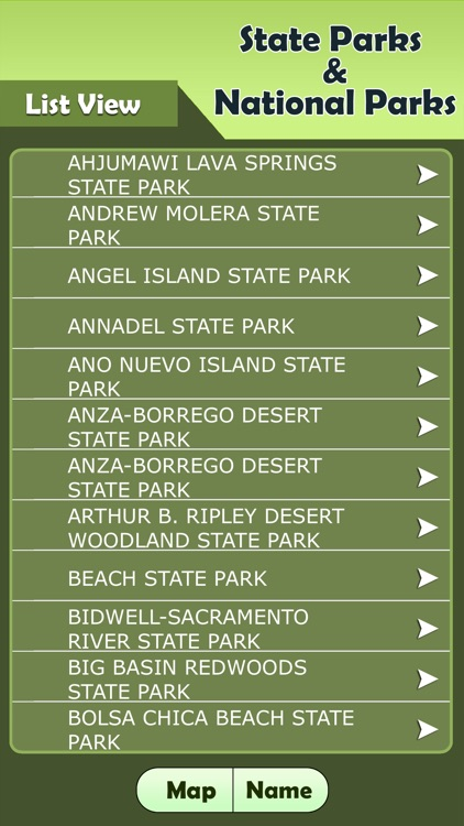 California - State Parks & National Parks Guide screenshot-2
