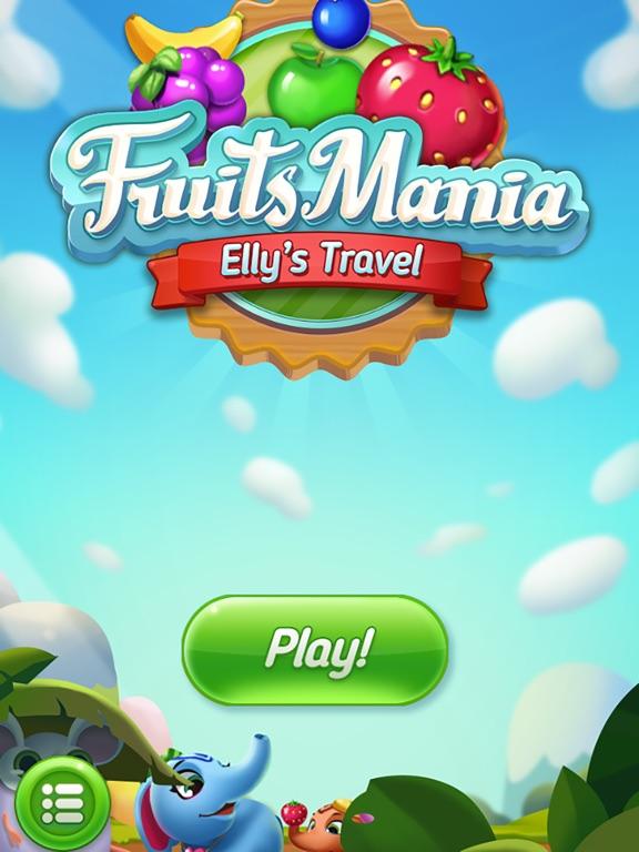 Игра Fruits Mania : Elly's travel