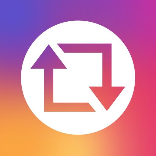 Repost - Repost Photo & Video Story for Instagram iOS App
