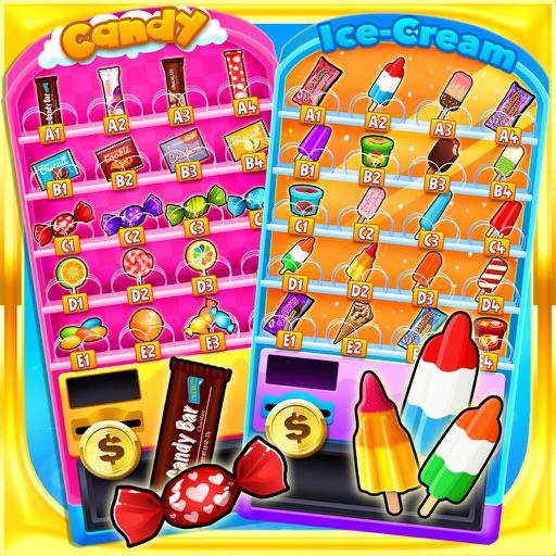 School Lunch Vending Machines - Kids Food Games