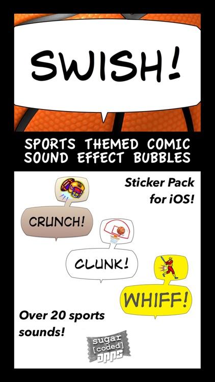 Swish! Sports Sounds Comic Bubbles