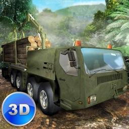 Jungle Logging Truck Simulator 3D