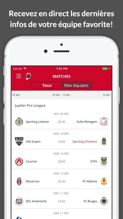 Jupiler Pro League - official app screenshot-4