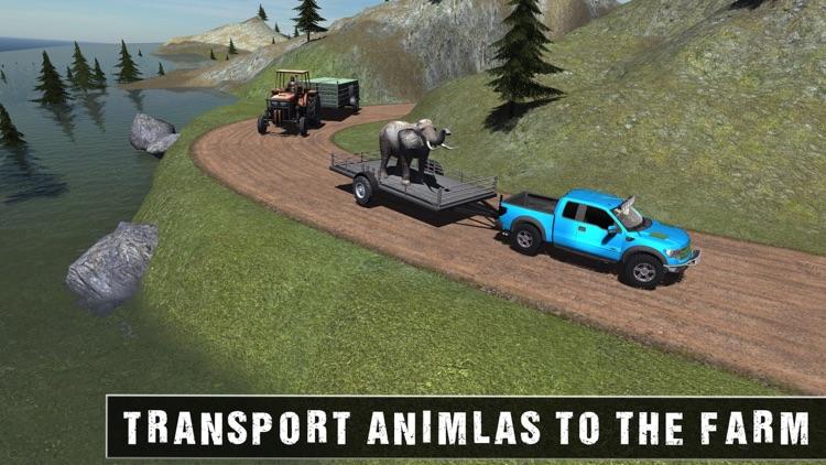 Off Road Animal Transporter 4x4 screenshot-4