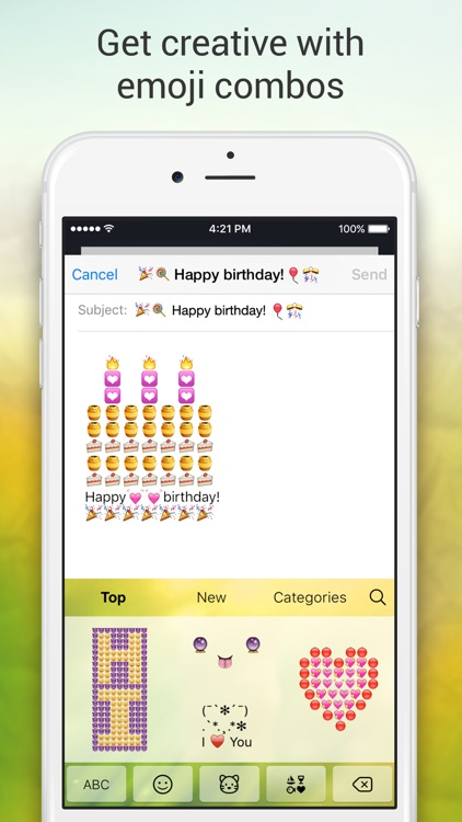 Emoji Keyboard for Me - Free Emoji Keyboard Themes screenshot-4