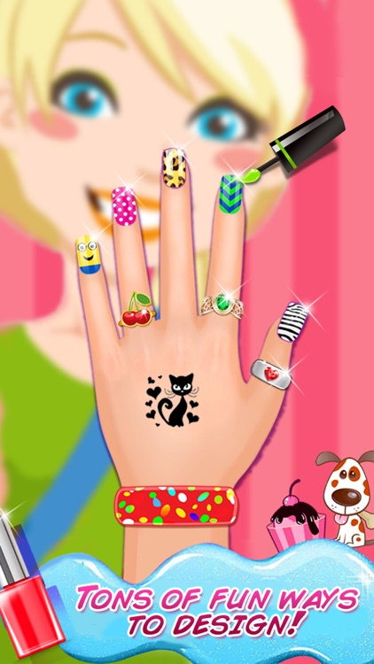 High School Nail Art Nail Salon Girls Game By Nasar Khan