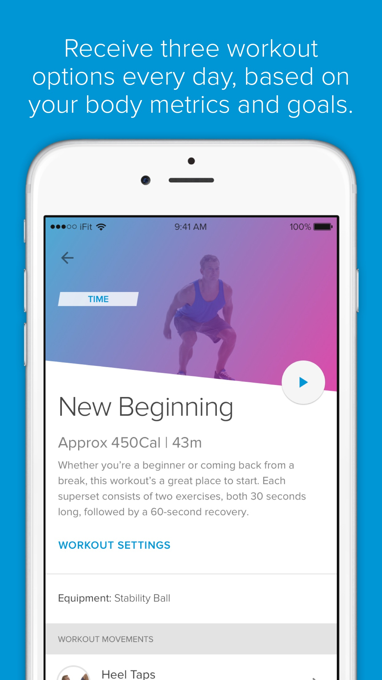 iFit—All-day Fitness Coaching Screenshot