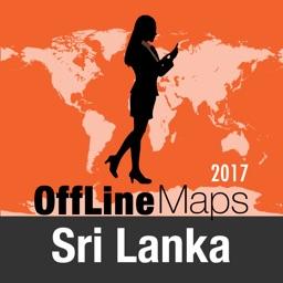 Sri Lanka Offline Map and Travel Trip Guide