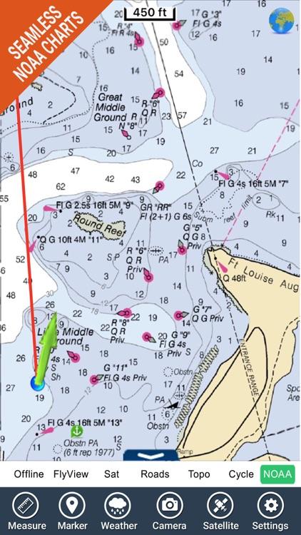 Virgin Islands HD GPS Map Navigator