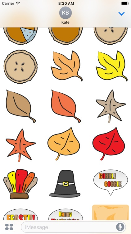 Fall Season Stickers screenshot-1