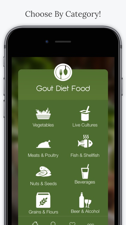Gout Diet Foods screenshot-1