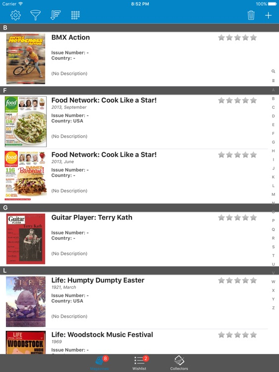 Magazine Collector - iPad Version