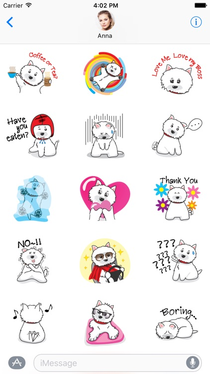 West Highland White Terrier Dog Sticker Pack