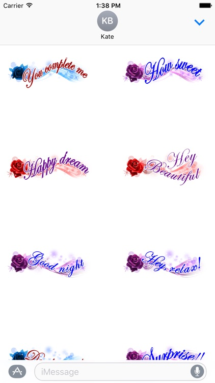 Love Messages Sticker - love stickers for iMessage screenshot-3