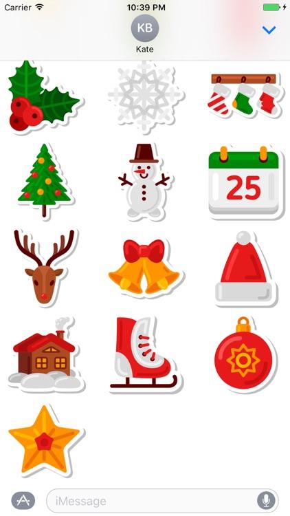 Christmas Stickers Pack 1 - Weihnachten - Noël