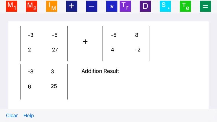 Elementary Matrix Algebra screenshot-4