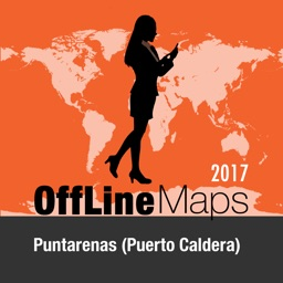 Puntarenas (Puerto Caldera) Offline Map and