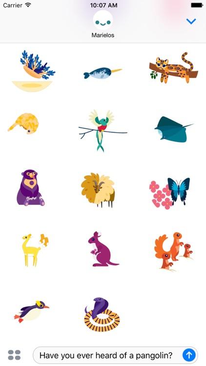 IDEOko Safari Stickers