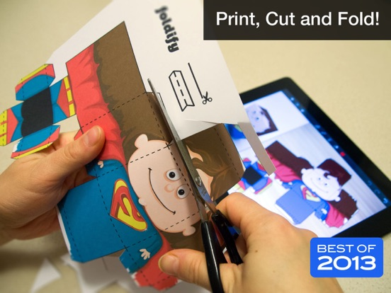 Foldify - Create, Print, Fold! Screenshots