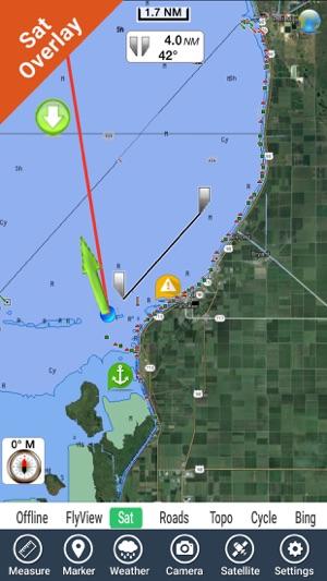 Lake Okeechobee Florida HD GPS fishing chart on the App Store