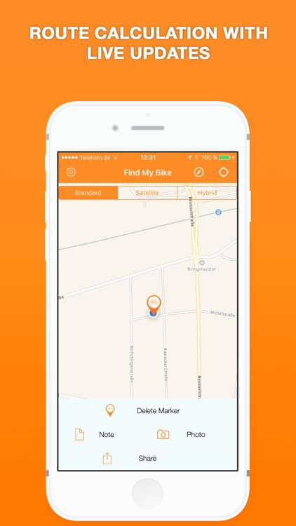 Find My Bike - Motorbike & Bicycle Parking Tracker screenshot-3
