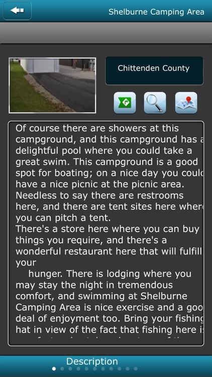 Vermont Campgrounds screenshot-3