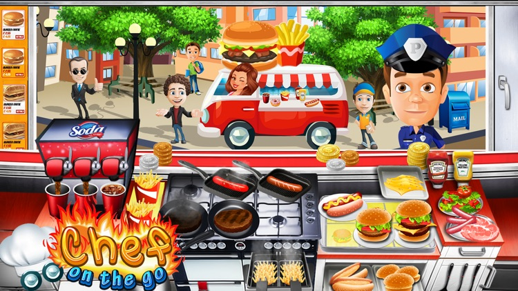 The Cooking Game- With Cute iMessage Food Stickers screenshot-3