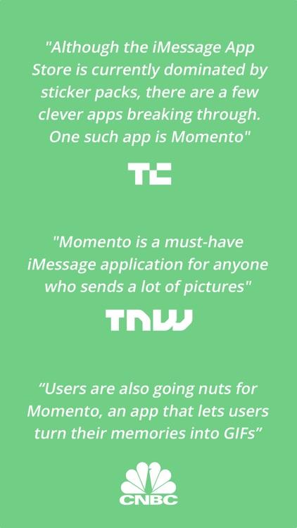 Momento - Share Your Memories as GIFs screenshot-4