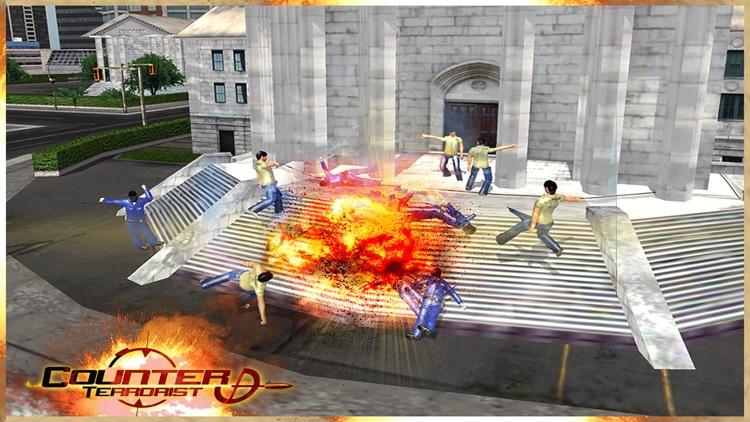 Elite Roof-top Sniper Assassin: Shoot Secret Agent screenshot-3