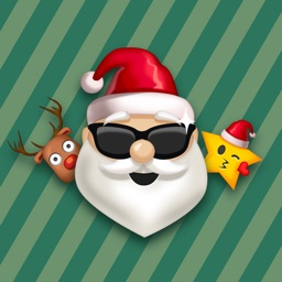 Christmas Sticker - Happy Holiday Emoji