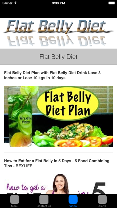 Flat Belly Diet & Fat Burning Foods For Flat Tummy screenshot two