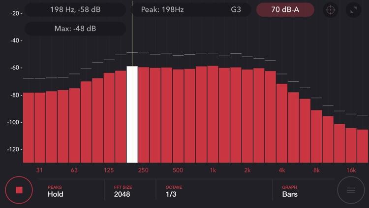 Audio Spectrum Analyzer Pro
