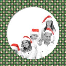 Christmas Tree Frame - Frame editor