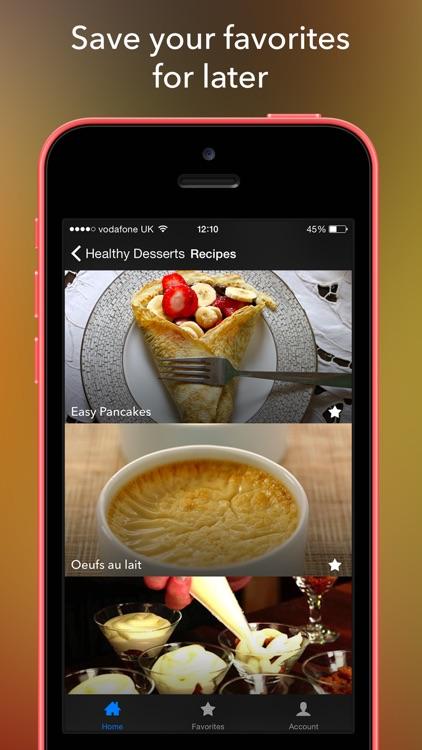 5:2 Fast Diet Dessert Recipes screenshot-3