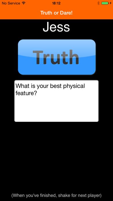 TRUTH or DARE!!! - FREE Screenshot