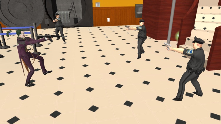 Clown Bank Robbery - Gangster Mafia Crime Game