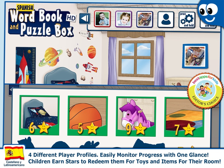 Spanish Words and Kids Puzzles screenshot-3