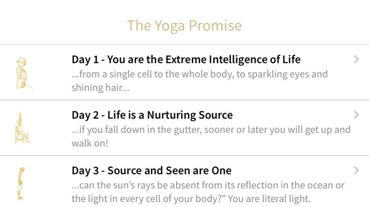 The Yoga Promise