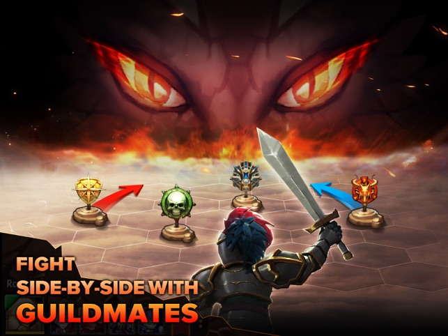 Heroes Tactics : PvP Strategy Game Screenshot
