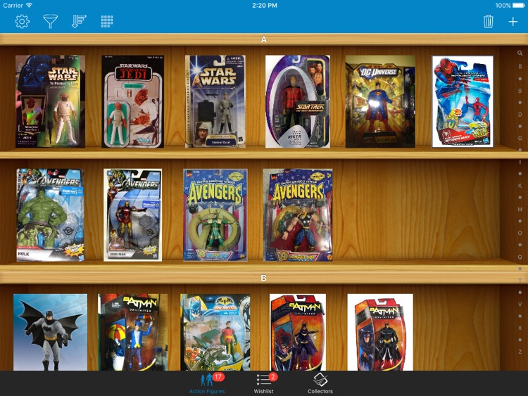 Action Figures Toys Collector for iPad screenshot-3