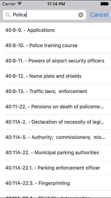 NJLaw - Title 40 - Counties and Municipalities screenshot three