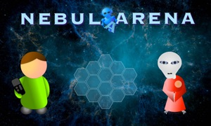 NebulArena: A new interstellar twist on classic 2 player strategy board game concepts