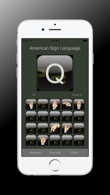 Sign Language Alphabet Trainer screenshot-3